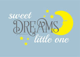 Nursery Wall Decal Sweet Dreams Little One Wall Decal Vinyl Letters Moon And Stars With Quote Sweet Dreams Vinyl Lettering Wall Decals