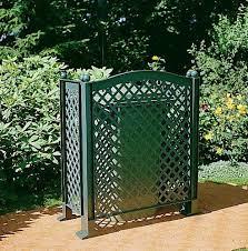 Khw 44003 Trellis Screen For Hiding Rubbish Bins Green Amazon Co Uk Garden Outdoors Bins Trellis Creative Gardening