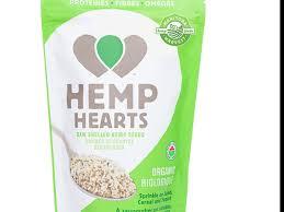 raw sed hemp seeds nutrition facts