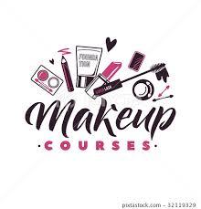 makeup courses vector logo