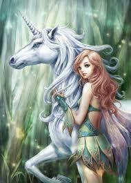 Pin by Hilda Gilbert on Fée. | Unicorn and fairies, Fairy art, Fantasy fairy