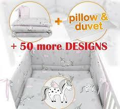 nursery baby bedding set per pillow