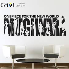 Buy Series One Piece Straw Hat Group Creative Cartoon Stickers Dormitory Bedroom Wall Stickers Room Decor Poster Wall Stickers In Cheap Price On Alibaba Com
