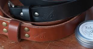 in review thirteen50 leather belts
