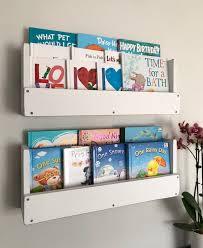 Kids Nursery Bookshelves Wall Mounted Bookshelf Wall Mounted Etsy