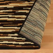 saylorsburg abstract brown area rug
