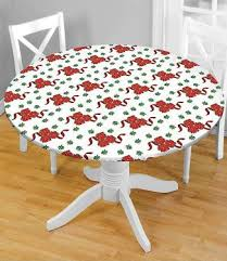 fitted vinyl tablecloths lovetoknow
