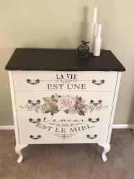 Refurbished Antique Dresser Fusion Mineral Paint Dresser Top Furniture