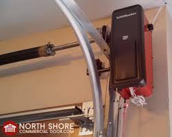mount residential garage door opener