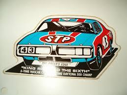 Nascar Racing Decal Daytona King Richard Petty Stp Napa Firecracker 400 Nos Lot 1859834506