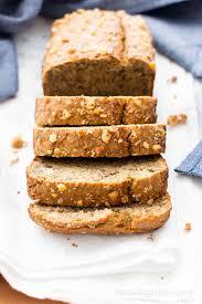 vegan gluten free banana nut bread