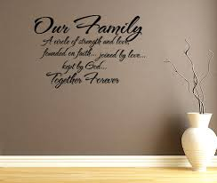 Family Saying Wall Decals Family Quote Wall Art Our Family Quotes Independence