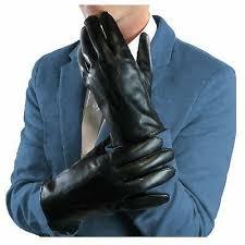 genuine leather winter touchscreen men