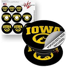 Decal Style Vinyl Skin Wrap 3 Pack For Popsockets Iowa Hawkeyes Tigerhawk Oval 01 Gold On Black Popsocket Not Included By Wraptorskinz Buy Products Online With Ubuy Kuwait In Affordable Prices B072jd5l6r