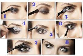 apply eye makeup for deep set eyes