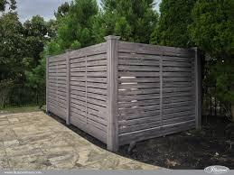 Semi Privacy Horizontal W 3 Boards Illusions Fence