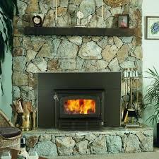 wood burning fireplace insert w blower