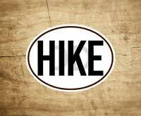Woman Hiker Icon Sticker Car Window Vinyl Decal Hiking Camping Backpack Travel Ebay