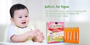 Combo 2 hộp Jullivit Ăn Ngon - bé ăn ngon miệng, khỏe mạnh, thông ...
