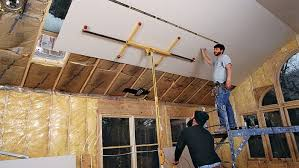 hanging drywall on ceilings fine