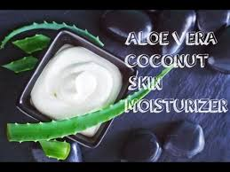 how to make coconut and aloe body oil