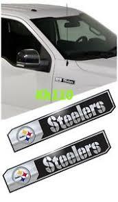 Nfl Pittsburgh Steelers Car Truck Edition Badge Color Aluminum Emblem Sticker 681620293241 Ebay