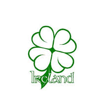 Ireland Clover Decal Custom Vinyl Irish Heritage Car Truck Window Laptop Sticker Custom Vinyl Laptop Stickers Irish Heritage