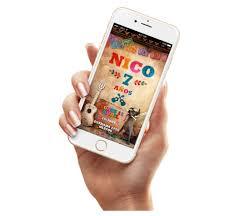 Tarjetas Infantiles Invitaciones Ticket Coco Disney Cumple 506