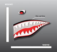 For Kris Nose Art Shark Painting Art