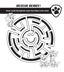 paw patrol puppy free activities studio