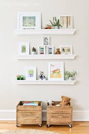 10 Different Ways To Style Floating Shelves Stylish Toy Storage Floating Shelves Diy Toy Storage