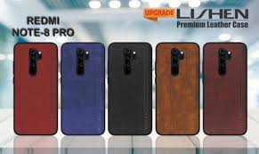 leather mobile cover for redmi note 8