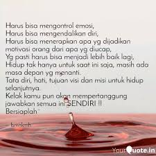 harus bisa mengontrol emo quotes writings by isma anikmah