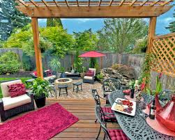 beautiful garden and roof terraces