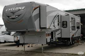 2016 heartland cyclone 3612 toy hauler
