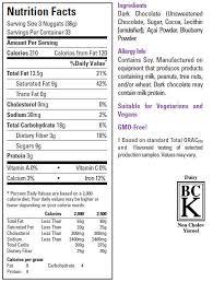 healthy dark chocolate xocai nuggets