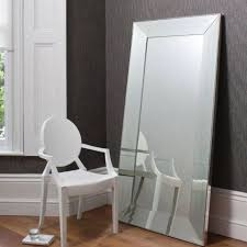 floor standing leaner mirror ferrara