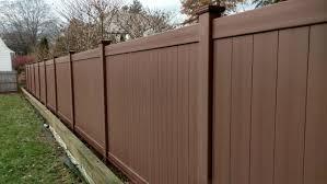 Pvc Vinyl Northern Fence