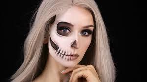 half skeleton makeup you saubhaya makeup