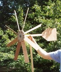 wind pass wooden garden windmill plans
