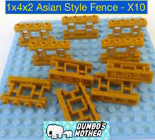 Fence Gold Lego Bricks Building Pieces For Sale In Stock Ebay