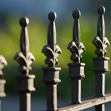 Antiques Cast Iron Fence Finials 6 Pieces Antique Finials