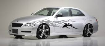 Waxing Your Car Before After Decal Application Personalized Stickers Visigraph