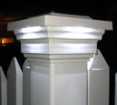 Pin By Kattie Taufa On For The Home Solar Post Caps Outdoor Solar Lights Stone Pillars