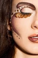 exotic makeup dramatic eye makeup
