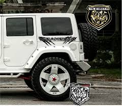 For Side Vinyl Decal Sticker Graphic Kit For Jeep Wrangler Rubicon Sport Unlimited Car Stickers Aliexpress
