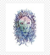 desktop wallpaper lion s head drawing