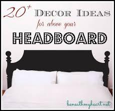 décor ideas for above your headboard
