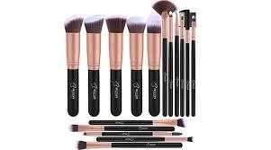 bestope 16 pc makeup brush set as low