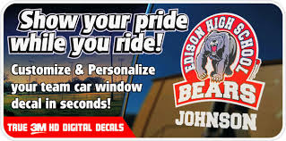 Spirit Decals Car Window Decals Sport Decals Myspiritdecal Com